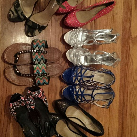 I just added this to my closet on Poshmark: Shoes. Price: $0 Size: various