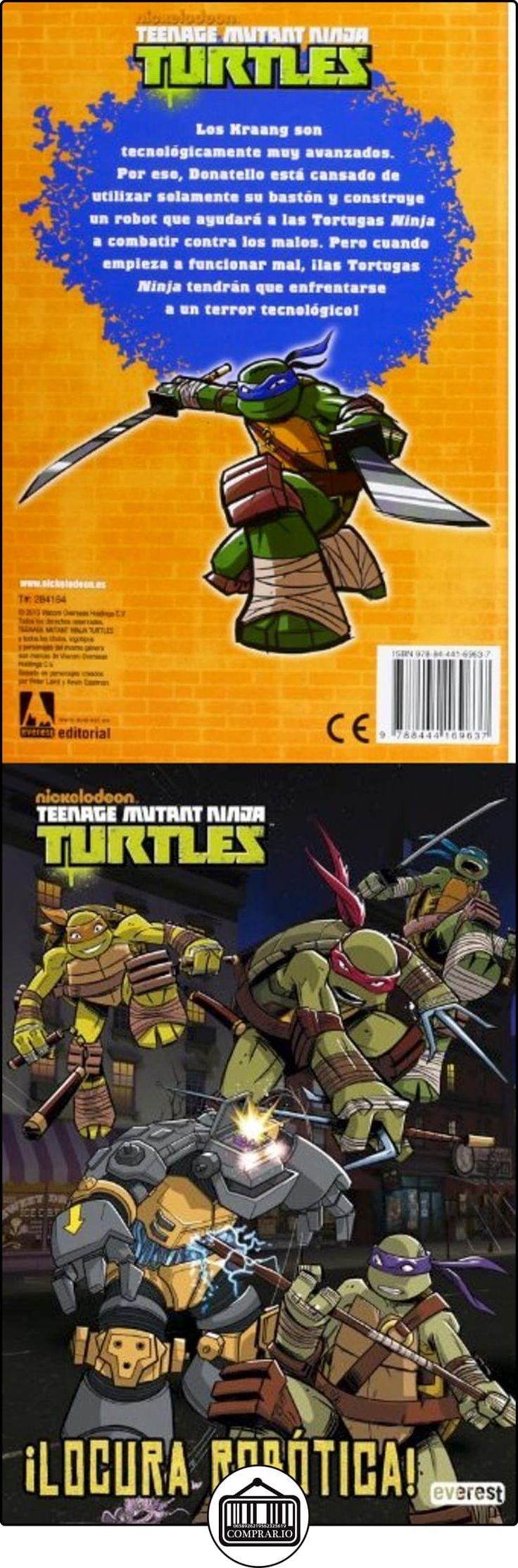 Tortugas Ninja. Locura Robótica (Libros de lectura) Nickelodeon ✿ Libros infantiles y juveniles - (De 6 a 9 años) ✿ ▬► Ver oferta: http://comprar.io/goto/8444169633