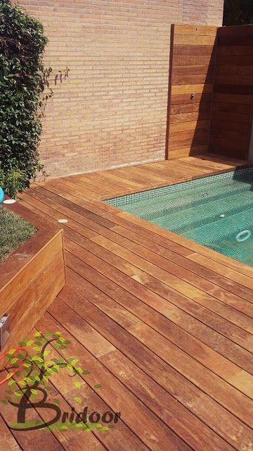 Madera de Ipe para Exteriores y Piscinas, urbanizacion la finca, madrid http://bridoor.blogspot.com.es/2015/08/madera-de-ipe-para-exteriores-y-piscinas.html