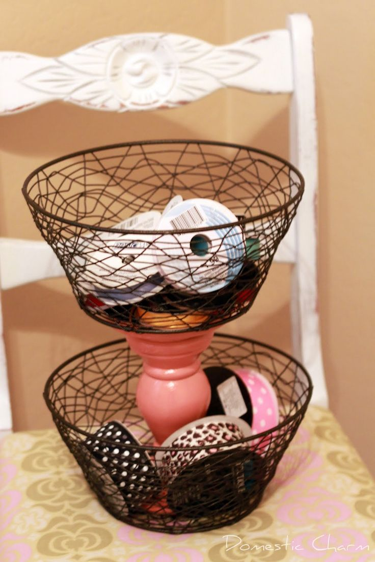// Getting Inspired to revamp my office and to organize my office, I've decided I'll need places to PUT things in...baskets mainly so here are some DI...