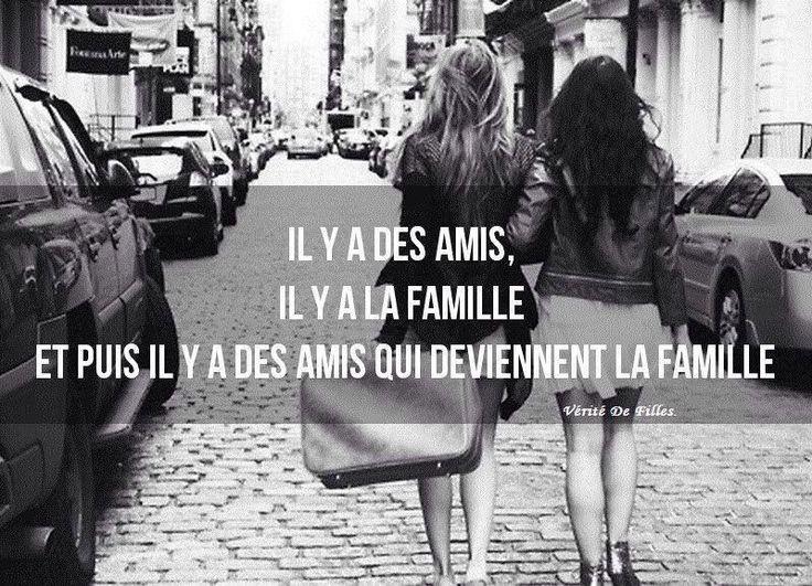 Citation & Proverbe  Image    Description  Amis, famille de coeur