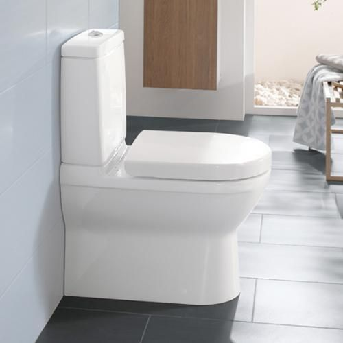 Villeroy U0026 Boch O.novo Floor Standing, Close Coupled Washdown Toilet White