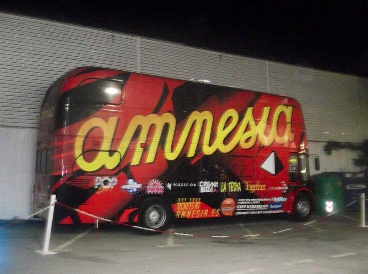 Amnesia bus Ibiza