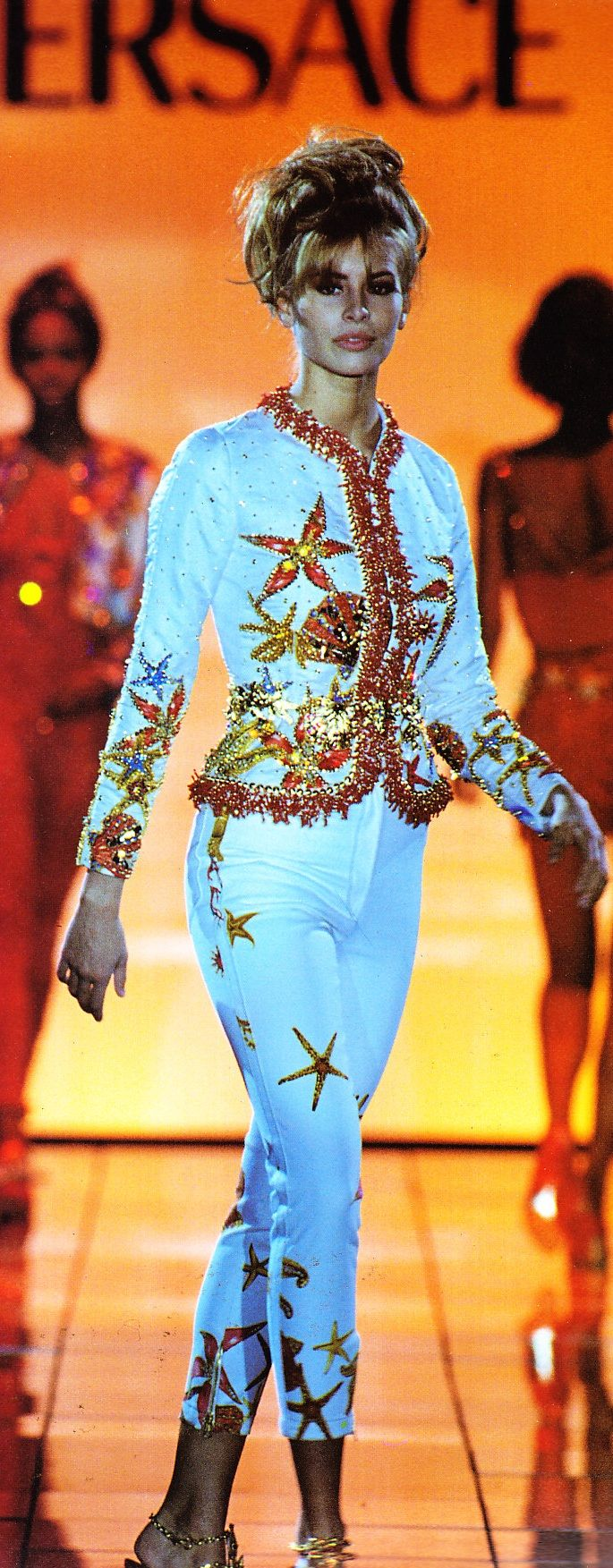 Niki Taylor - Versace 1992