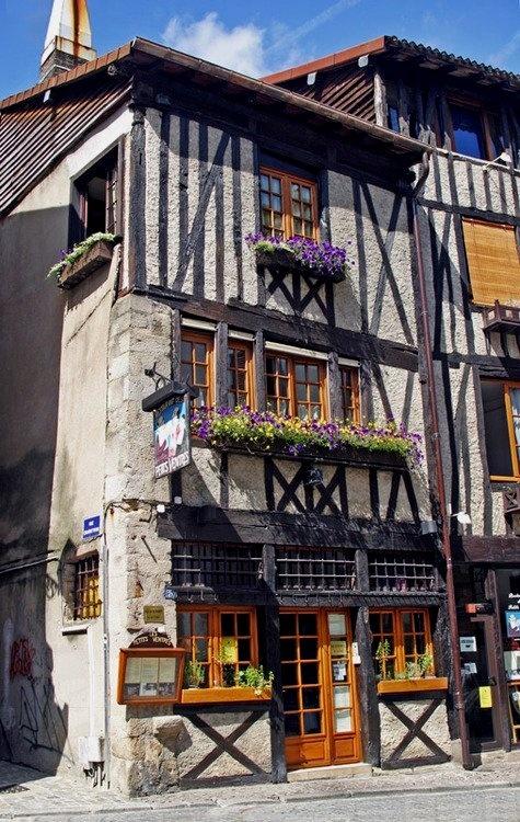 Limoges, France- Rue de la Boucherie