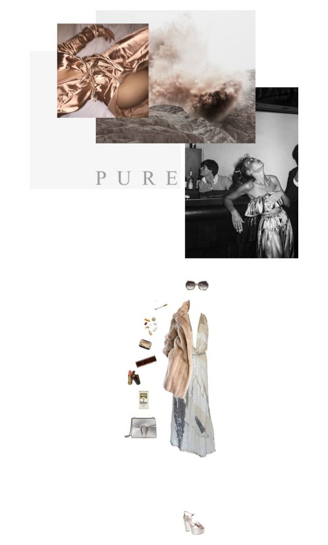 """""""studio 54"""" by loub917 ❤ liked on Polyvore featuring Prada, Halston, Avon, Guide London, Lilli Ann, Gucci and Jagger"""