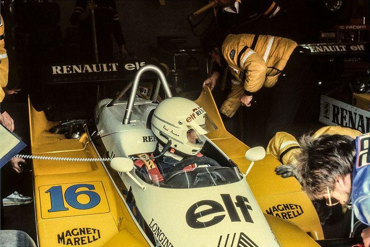 René Arnoux, ELF Renault RE30B, 1982 Belgian Grand Prix, Zolder