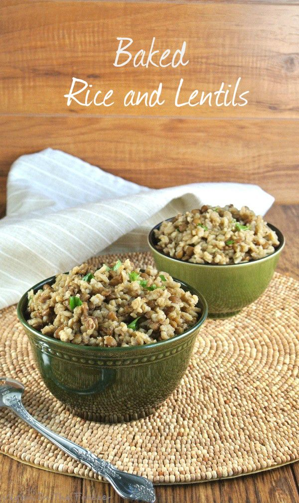 Mujadara Baked Rice and Lentils is straight up comfort food. Made richer with full-flavored spices and brought to your dinner table in a pretty casserole.