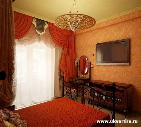 Уютная квартира | Если ваш любимый цвет - красный: заметки дизайнера, как оформить красные шторы в интерьере