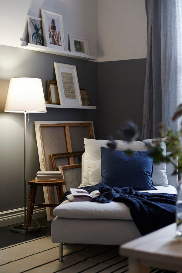 Home is where the corner of the living room is your favorite spot to read and your favorite photos are hung on the wall find ikea inspiration to design