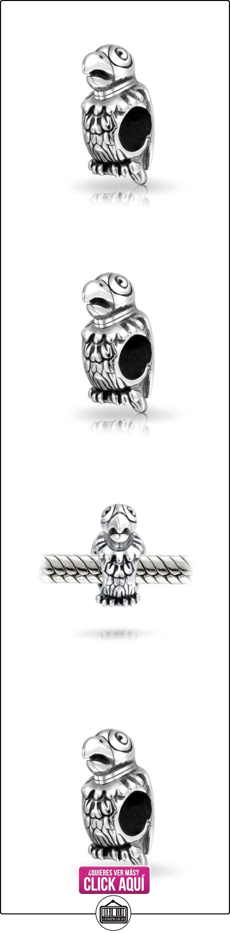 Bling Jewelry 925 Plata Animale Ave Loro Abalorio Encaja  ✿ Joyas para mujer - Las mejores ofertas ✿ ▬► Ver oferta: http://comprar.io/goto/B00FJE2JZ6