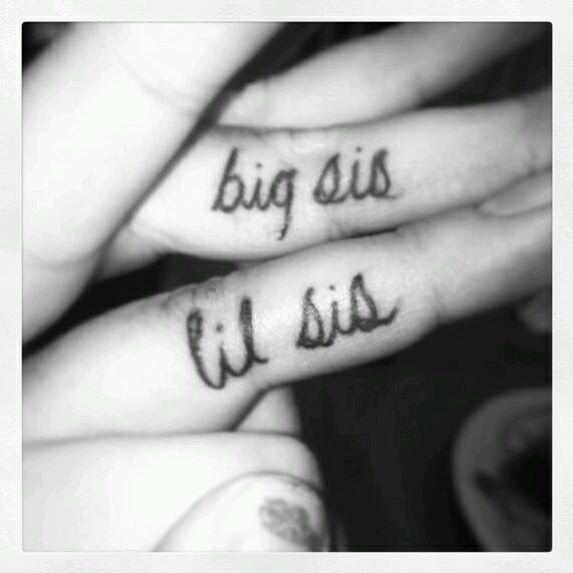 Lil sis Big sis