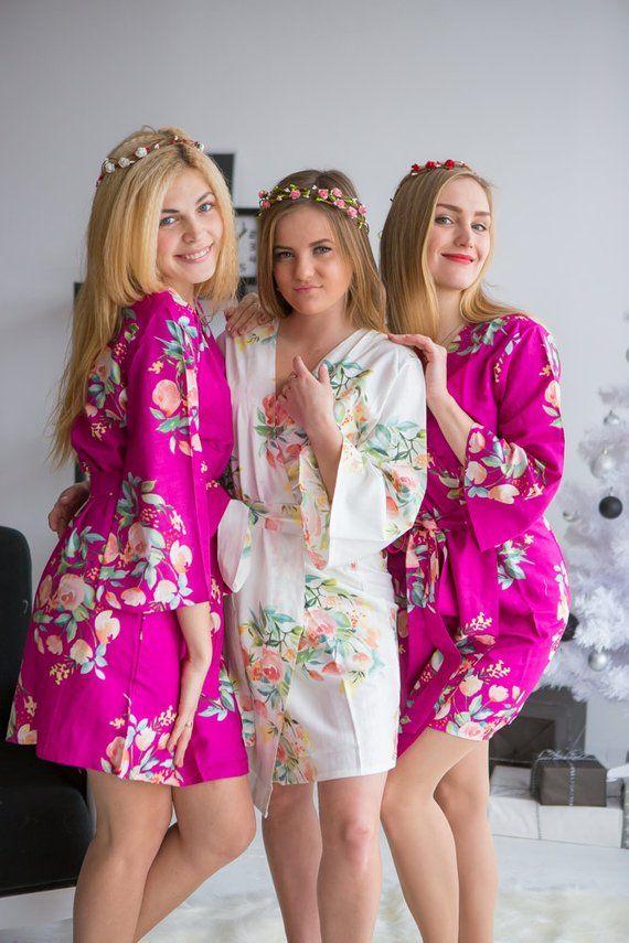 lilac bridesmaid robes - 500×750
