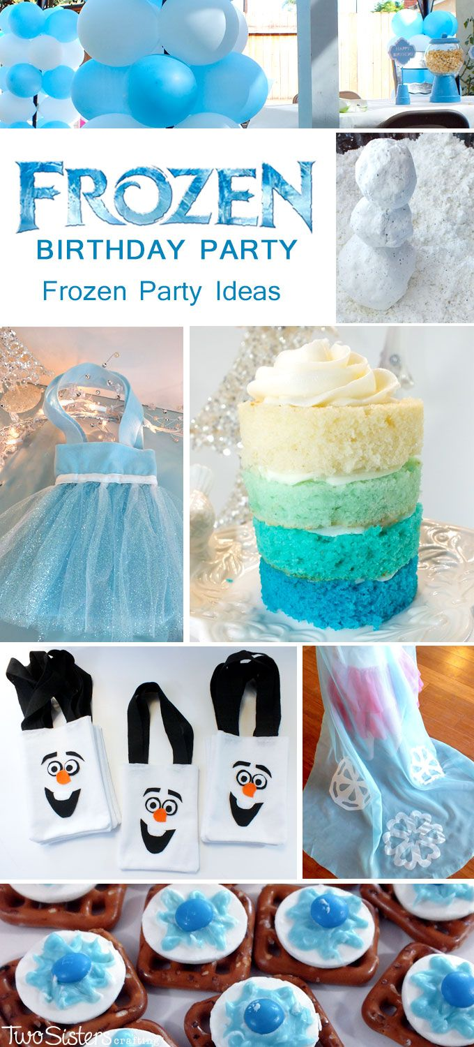 Disney Frozen Party Ideas - We threw a Frozen Birthday Party in the SUMMER with GIRLS and BOYS and we have over 30 Disney Frozen Party ideas that will inspire you do the same!