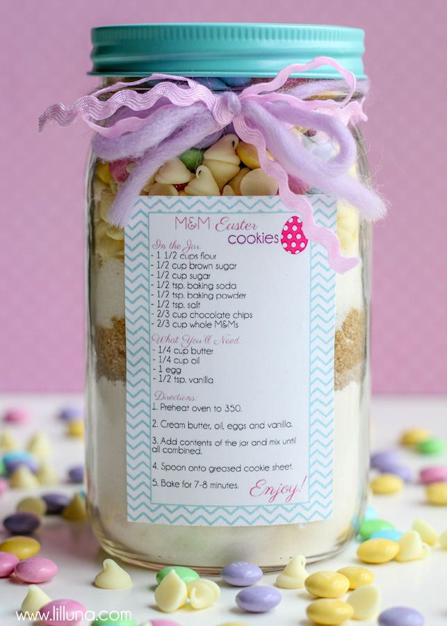 17 best images about hej on pinterest chore jar mason jar gifts cute easter cookie jar gift tutorial and free tags on lilluna negle Gallery