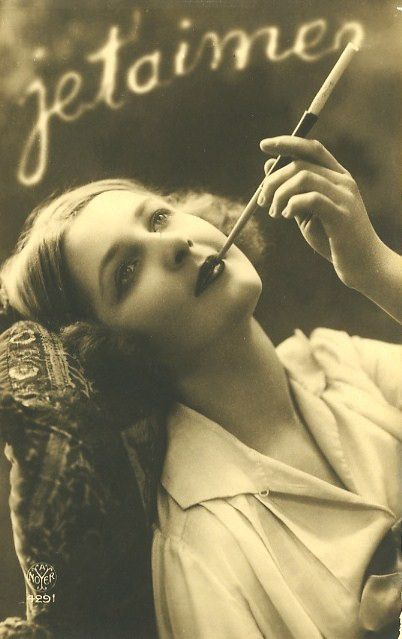 French postcard ca. 1920