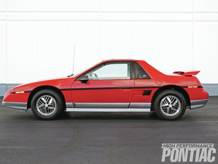 1985 Pontiac Fiero Gt Picture Exterior Car Pictures