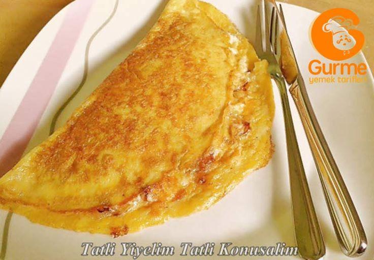 Peynirli Soğanlı Omlet - Pratik Yemek Tarifleri. Gurme resimli kolay pratik Peynirli Soğanlı Omlet nasıl yapılır yapılışı yapımı hazırlanışı