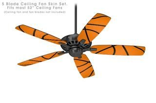 Ceiling Fan Self Adhesive Skin Kit   Basketball