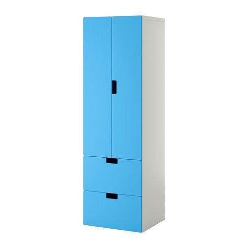 STUVA Opbergcombi met deuren/lades IKEA Deuren met ingebouwde demper, gaan langzaam en zachtjes dicht.