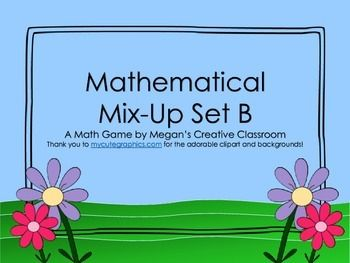This fun math game challenges students to use their addition skills to solve the riddles. Kids love jokes and this bundle is a wonderful way to get them engaged in their learning. Answer sheets are set up in a way that ensures students show their work.In this game, students will use the following skills:- addition up to 30+30- ordering numbers with sums up to 60- understand that the larger the addends, the larger the sumThis activity is perfect for partner work or as centers.
