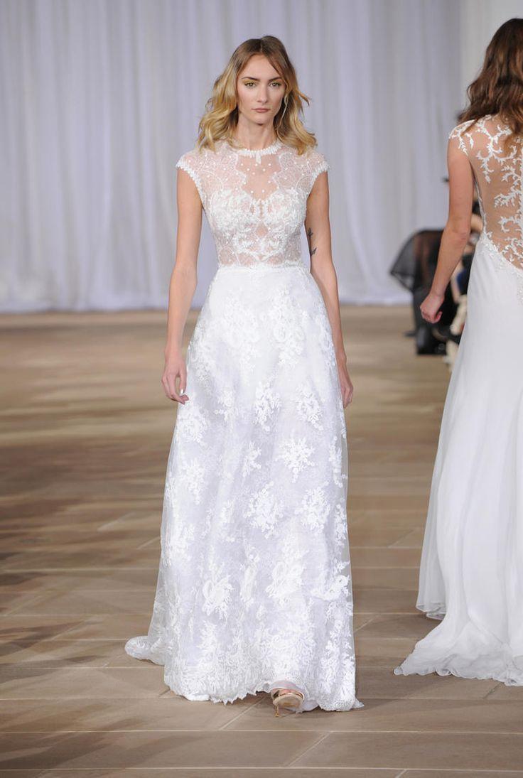 Ines di santo shows ultra feminine wedding dresses for for Ines di santo wedding dress
