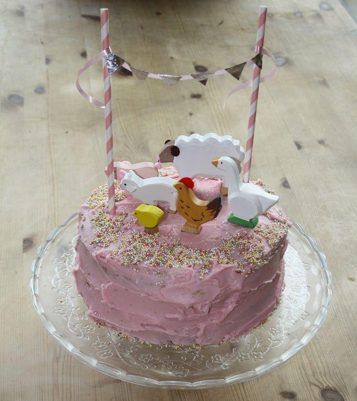 1000 ideas about animal birthday cakes on pinterest for Animal cake decoration ideas
