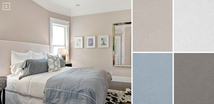 bedroom color ideas paint schemes and palette mood board on wall paint colors id=40193