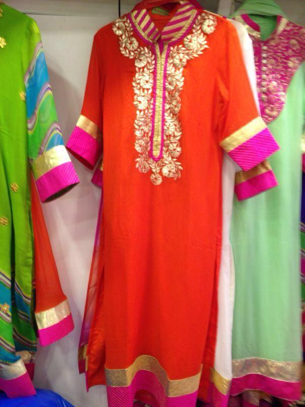 b5fa7e5bcc Pita work straight kurtas on georget by Araina Fabs ( mount Abu) contact no  : 09983401578 | Araina Fabs Mount abu | Dresses, Dress suits, Indian dresses