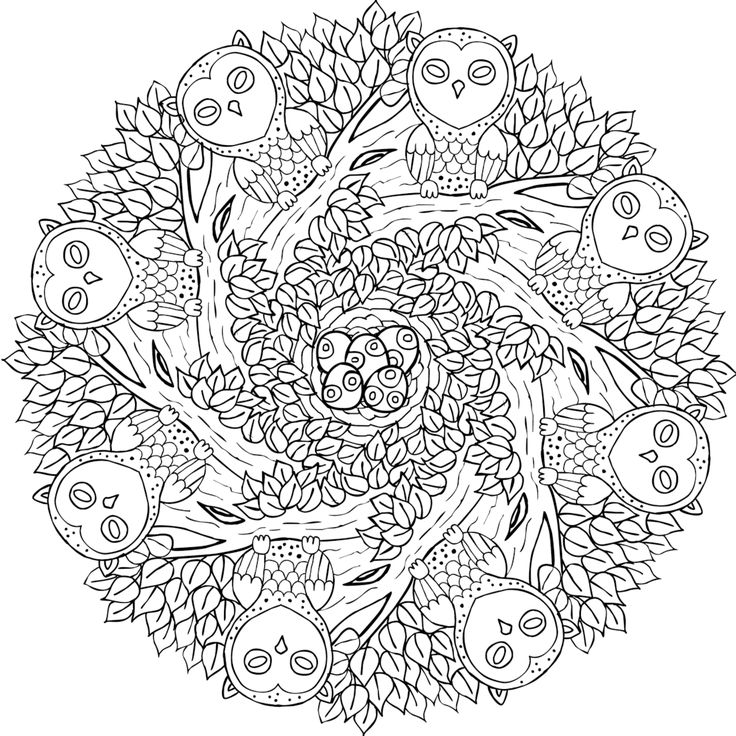 Picture of Old Souls coloring page