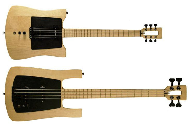 Millimetric guitar and bass
