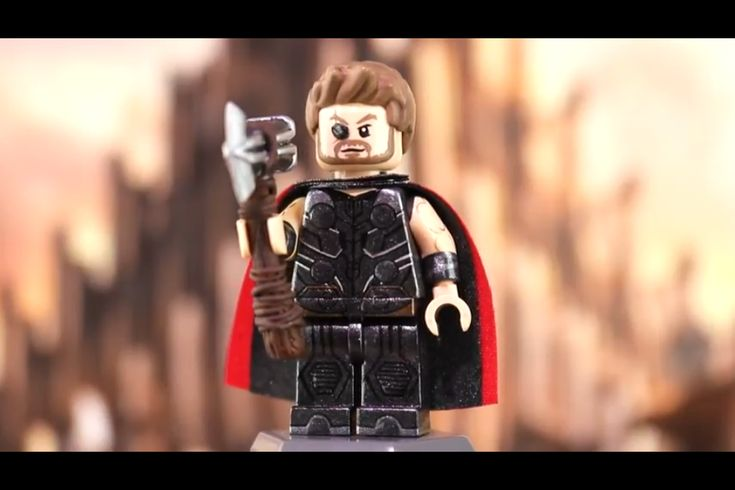 MichaelMGF's custom Lego Avengers infinity war Thor | Lego ...
