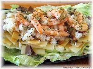 Le Chef Pierre D'Iberville: Salade Shangai