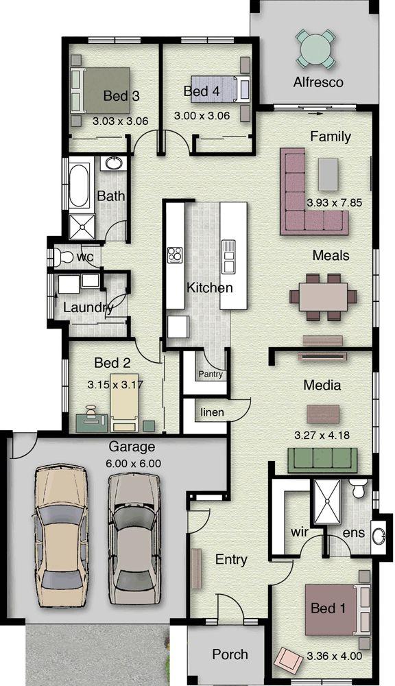 Airlie 242 Home Design House Plans Pinterest
