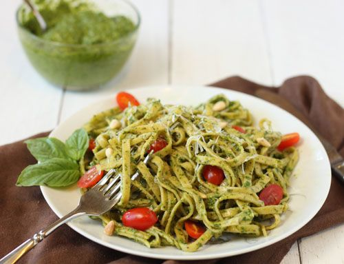 pesto is so expensive... so make your own!