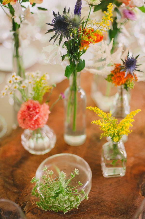 Roses In Garden: 25+ Best Ideas About Wildflower Centerpieces On Pinterest