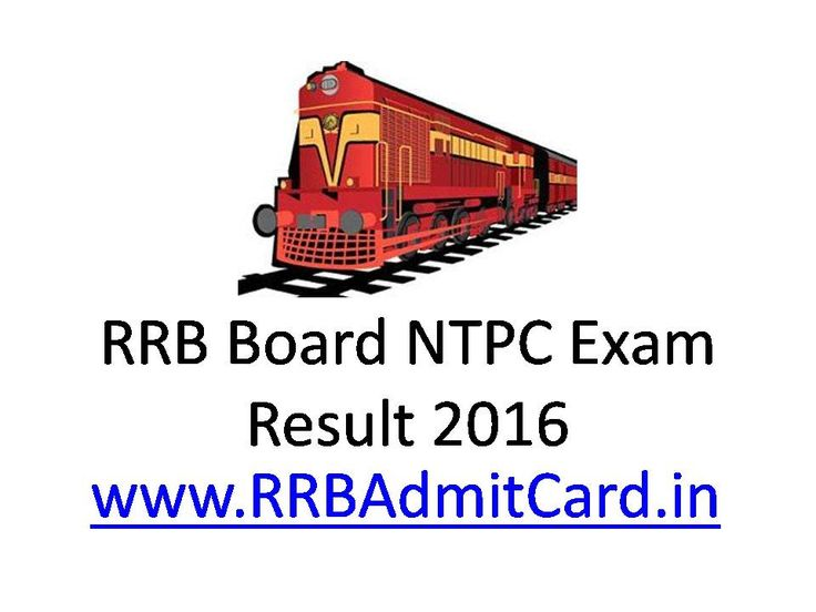 RRB Ajmer NTPC Score Card is now Declared, You can Download Result or merit list of NWR Ajmer Railway Non-TechnicalExam and RRB Ajmer Result 2016 Online.http://rrbadmitcard.in/ #rrbresult #rrbadmitcard #rrbexamresult #rrbexam #rrbntpc #rrbresult2016 #rrbntpcresult2016 #rrbrailwayresult2016 #ntpcrailwayresult2016