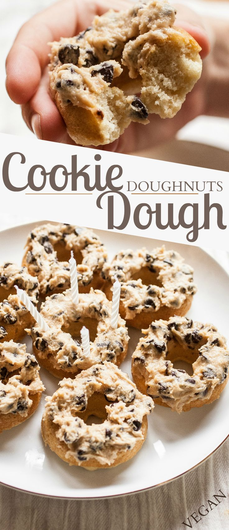 """Putting the """"dough"""" in donuts. Get the recipe from Produce on Parade.   - Delish.com"""