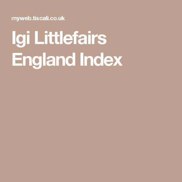 Igi Littlefairs England Index