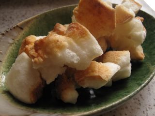 Fried Mochi - Kagami Biraki - cook