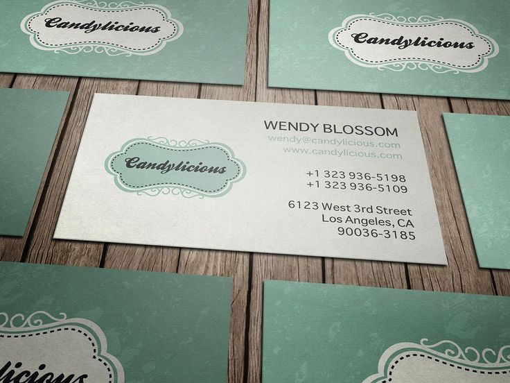 49 best business cards images on pinterest visit cards carte de vintage candy store business card by layoutlet on colourmoves