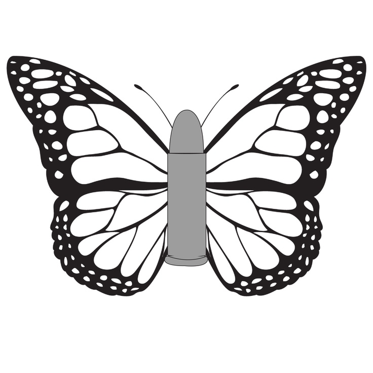 9 best How to draw monarch butterfly images on Pinterest ...