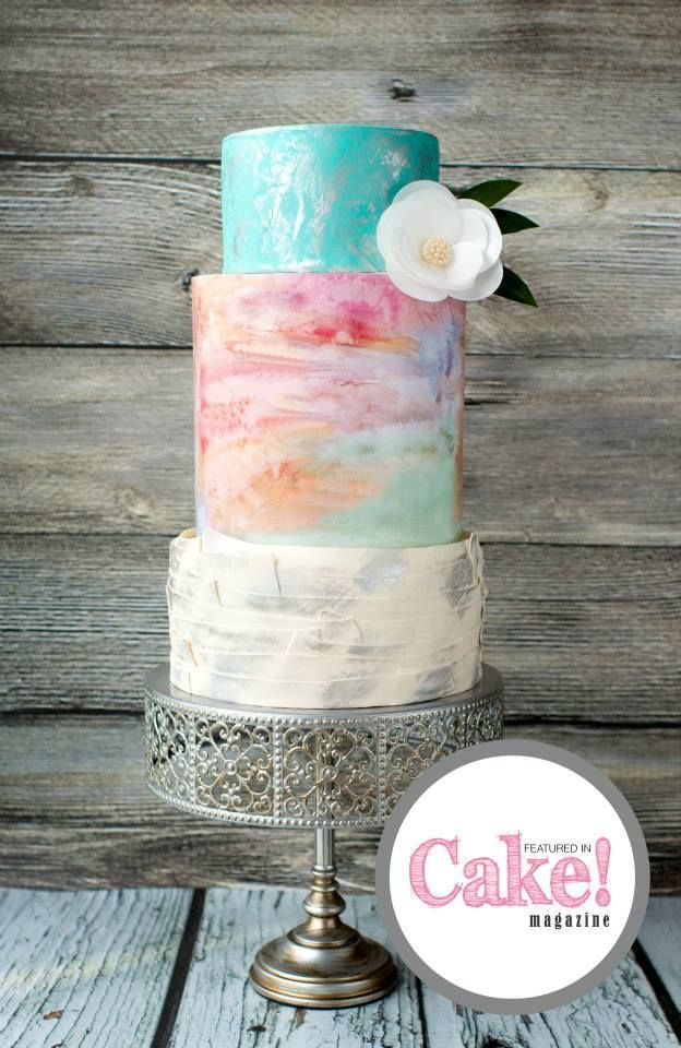 We Can't Stop Staring at These Wedding Cakes -  Hazel Wong Cake Design
