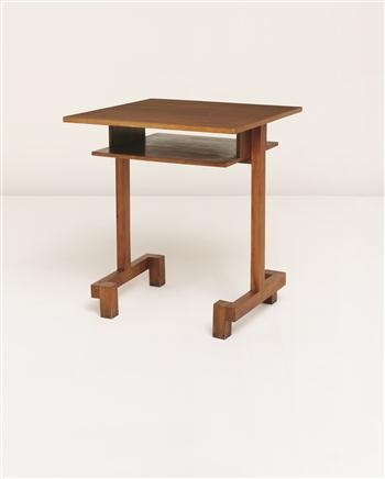 """Tea"" table from the apartment of Fred Forbát, Zehlendorf, Berlin, Designed by Hans Fricke, c.1925,  Literature: Peter Hahn, Bauhaus-Möbel: Eine Legende Wird Besichtigt, Berlin, 2002, pp113 for a similar example and 114"