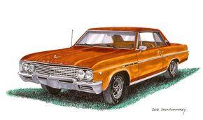 1965 Buick Skylark - Jack Pumphrey Art