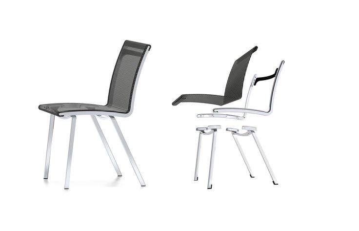 Bond MOBICA+ Bond, een stapelbare comfortabele lichtgewicht stoel van PLAN@OFFICE ontworpen door MOBICA+ door Martin Ballendat.