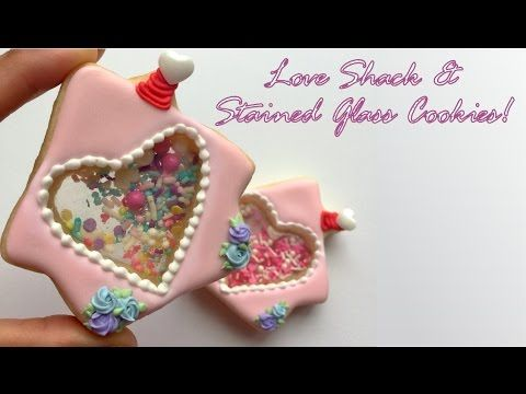 Love Shack & Stained Glass Cookies - YouTube