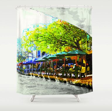 17 Best images about Art Shower Curtains on Pinterest   Abstract ...