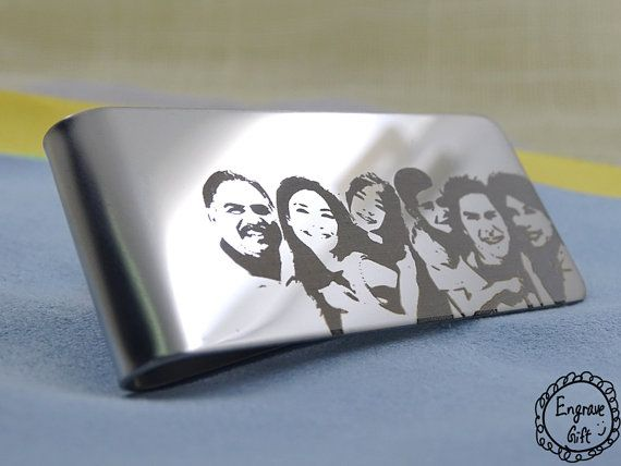 High Quality Stainless Steel, special for laser engrave with what you want to express to other on on your own.  The sample is only an idea of what