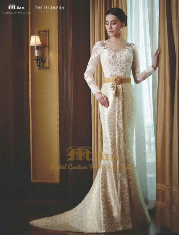 Traditional Wedding Dresses Weddings Clothes Thai Dress Fashion Style Stylish